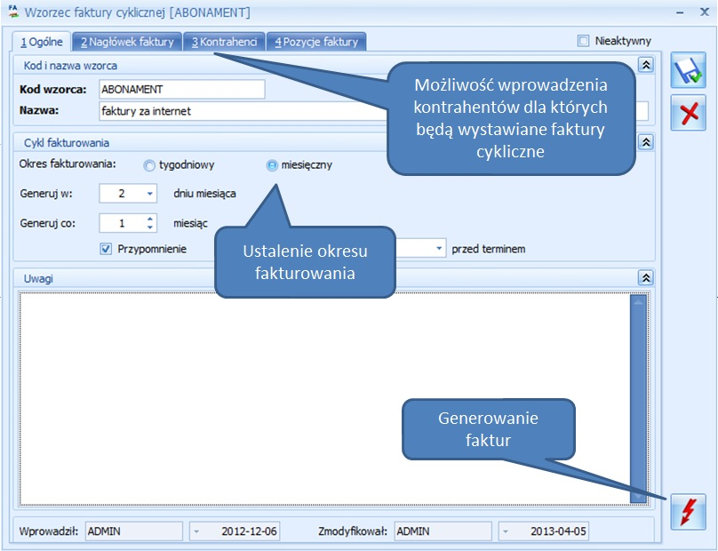 CRM Comarch ERP Optima