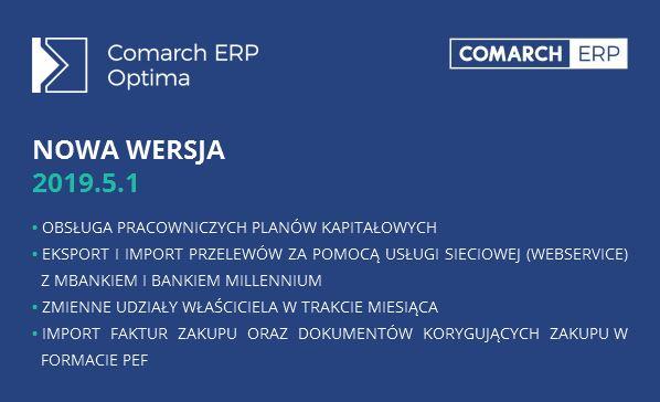 Nowa wersja Comarch Optima